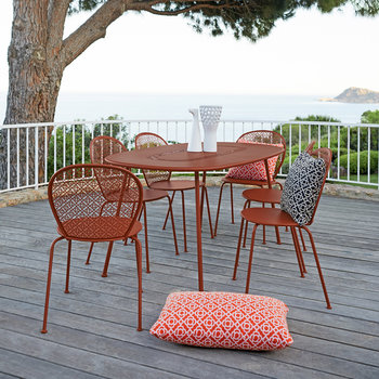 Lorette Garden Chair - Red Ochre