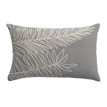 Palm Leaf Pillow - Thunderstorm