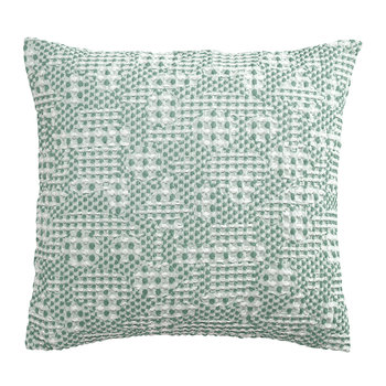 Coussin Talin - 45x45cm - Turquoise