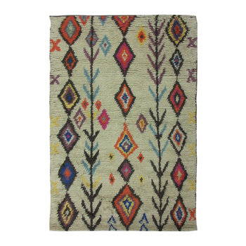 Diamond/Arrow Wool Rug - 120x180cm
