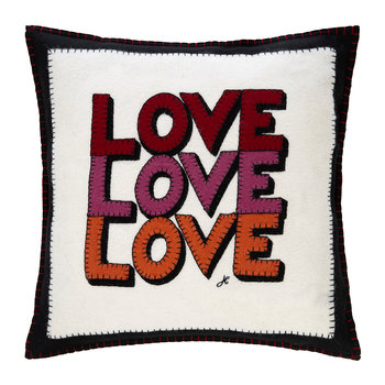Pop Art Love Cushion - 46x46cm