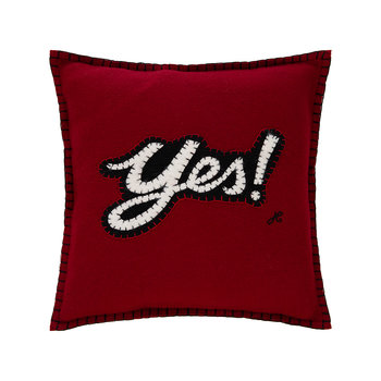 Pop Art Mini Yes Cushion - 30x30cm