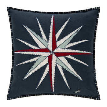 Seaside Compass Cushion - 46x46cm