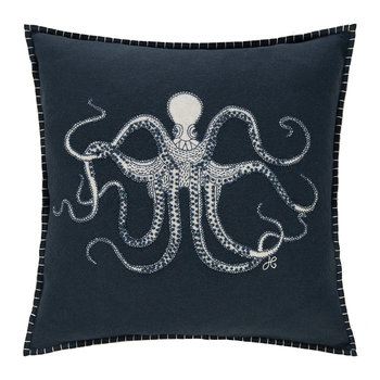 Seaside Octopus Pillow - 46x46cm
