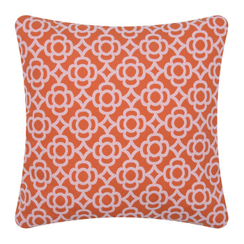 Lorette Outdoor Cushion - 45x45cm - Carrot