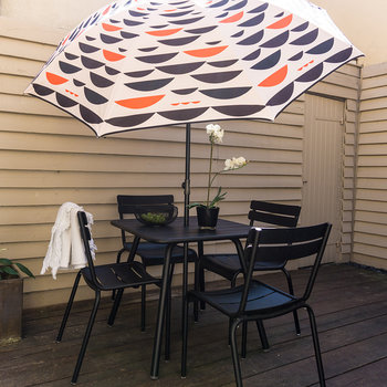Parasol de Patio Le Distingué - Rouge