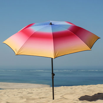 The Intriguing Beach Umbrella - Yellow/Pink
