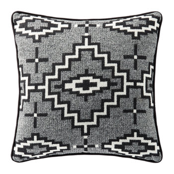 Decorative Jacquard Cushion - Kiva Steps
