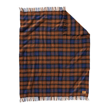 Carry Along Motor Blanket - Shelter Bay Plaid