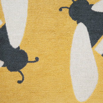 Buzzy Bee Bath Mat