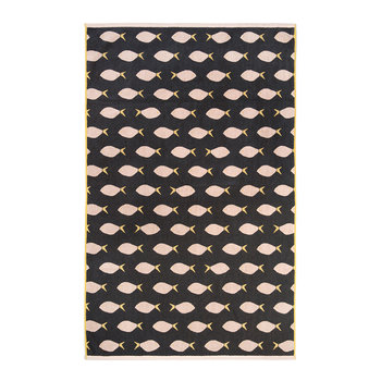 Fish Towel - Black