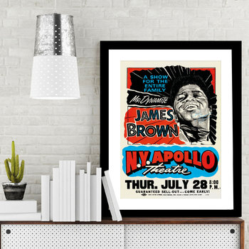 James Brown NY Apollo Print