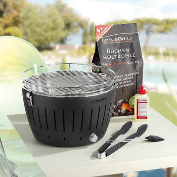 Portable Charcoal Grill - Anthracite
