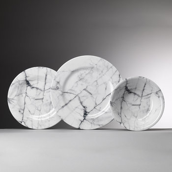 Moreschina Plate - White - Medium