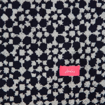 Tile Geo Towel - French Navy