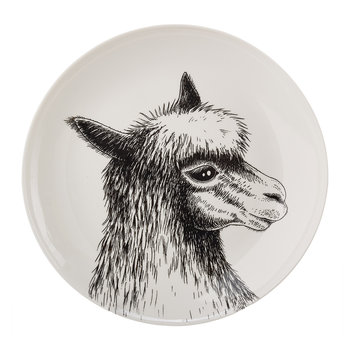 Animals Salad Plates - Set of 6