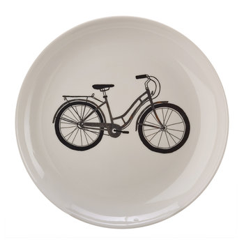Bikes Salad Plates - Set of 6