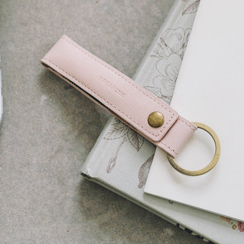 wLoop Leather Wire Loop - Nude