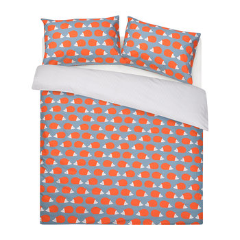 Kissing Hedgehogs Reversible Duvet Set