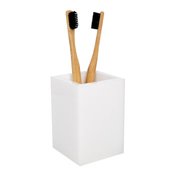 White Ice Toothbrush Holder