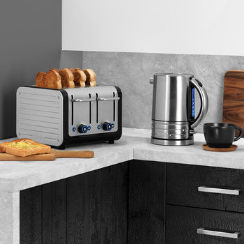 Architect Toaster - Brushed - 4 Slot