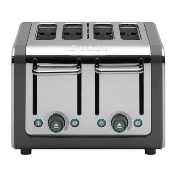 Architect Toaster - Grey - 4 Slot