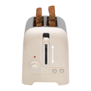 Lite Toaster - Cream - 2 Slot