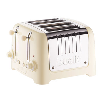 Lite Toaster - Cream - 4 Slot