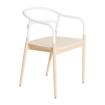 Dojo Bridge Chair - White