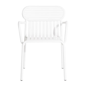 Week End Bridge Chair - White