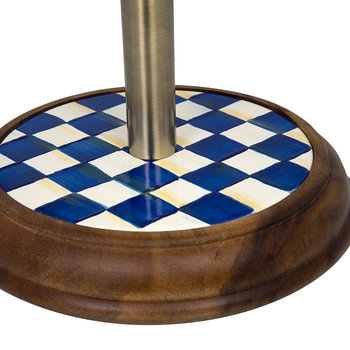Royal Check Paper Towel Holder