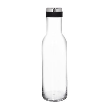 Bottle Carafe - 1L - Clear/Steel