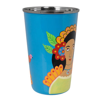 Frida Khalo Stainless Steel Tumbler - Lilac