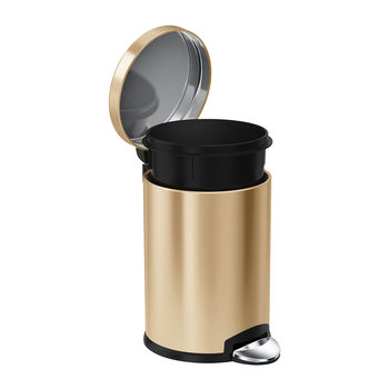 Tireless Bread Bin Stainless Steel Kitchen Storage Black Rose Gold Lid Roll Top Cookware, Dining & Bar Home, Furniture & Diy