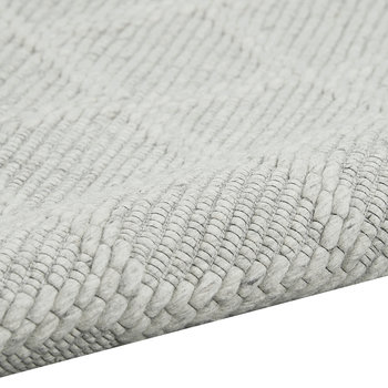 Tallahasse Rug - Silver