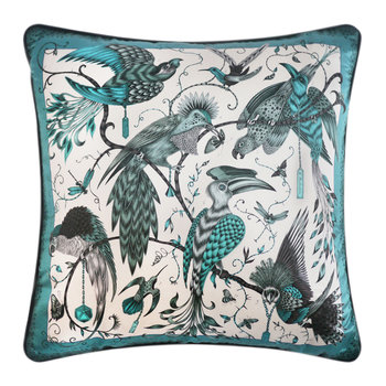 Audubon Pillow - 58x58cm - Teal