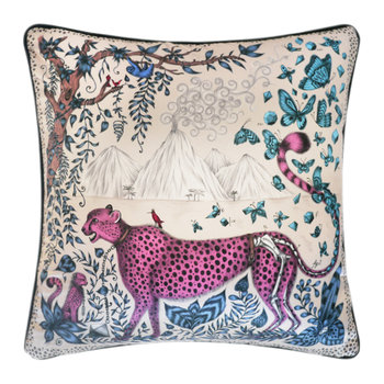 Cheetah Pillow - 45x45cm - Pink