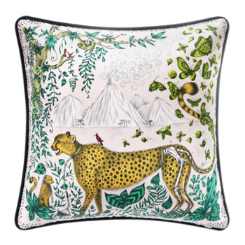 Cheetah Pillow - 45x45cm - Yellow