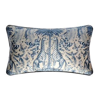 Kruger Double Bolster Pillow - 49x29cm - Blue