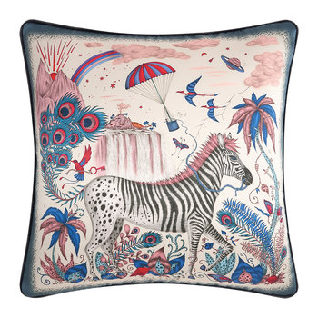 The Lost World Pillow - Pink - 45x45cm