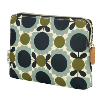 Scallop Print Cosmetic Bag