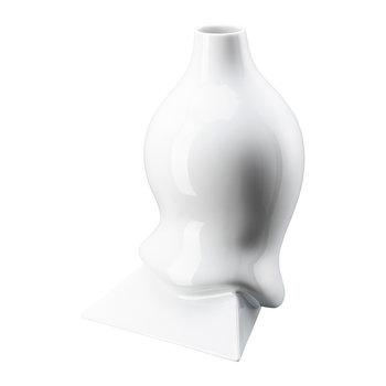 Sirop Vase - White Glazed