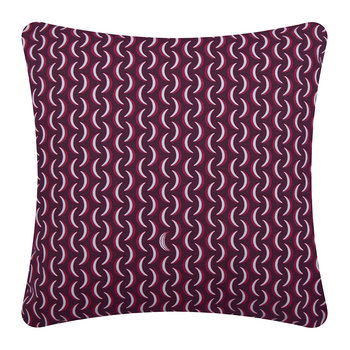 Bananes Outdoor Pillow - 45x45cm - Plum