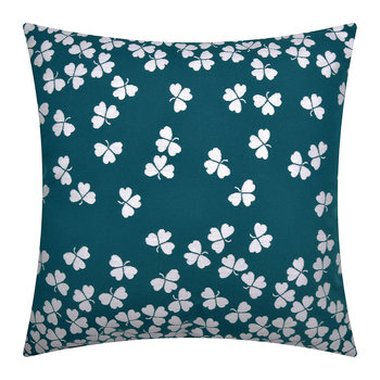 Trefle Outdoor Pillow - 45x45cm - Dark Blue