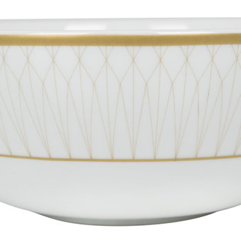 Prism Porcelain Bowls - Set of 4
