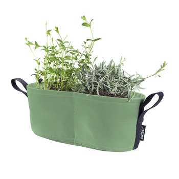 Batyline Window Box Plant Pot - 8L - Olive