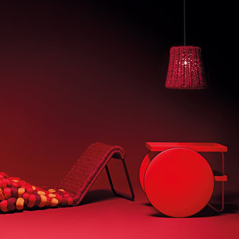 Table Chariot - Rouge Fluro