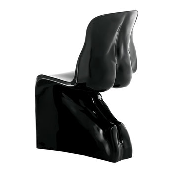 Him Chair - Gloss Black
