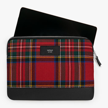 Red Tartan Ipad Case