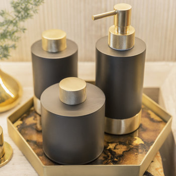 SSP 1 Club Soap Dispenser - Dark Bronze/Matt Gold